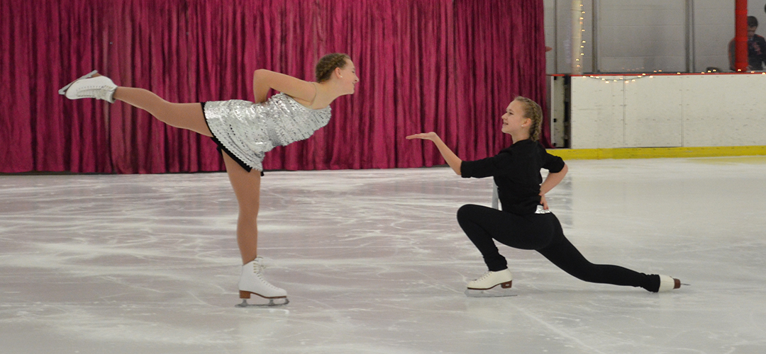 Sophia Dietz and Raewyn Updike perform a duet in the 2015 show.